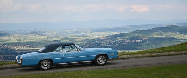 Ou en Cadillac!