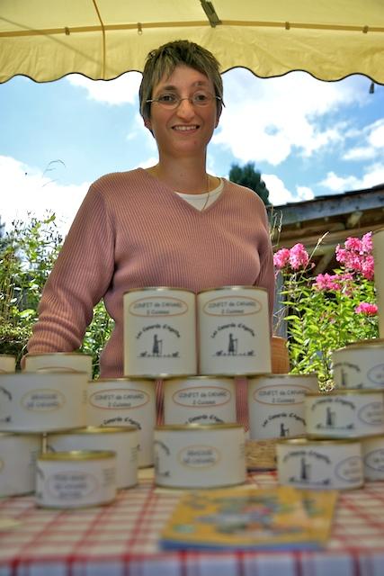 Catherine Farge, productrice de foie gras
