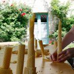 La fabrication des bougies