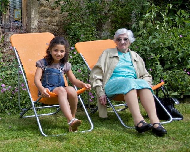Marcelle, arrière arrière grand mère de Sharlene, 96 & 7 ans-00084