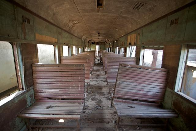 L'intérieur du wagon 00436