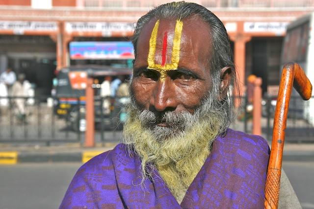 Sadhu à Jaipur 00692