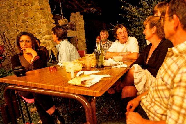 Rosala, Marie, Bernard, Fred & Joël.....00371