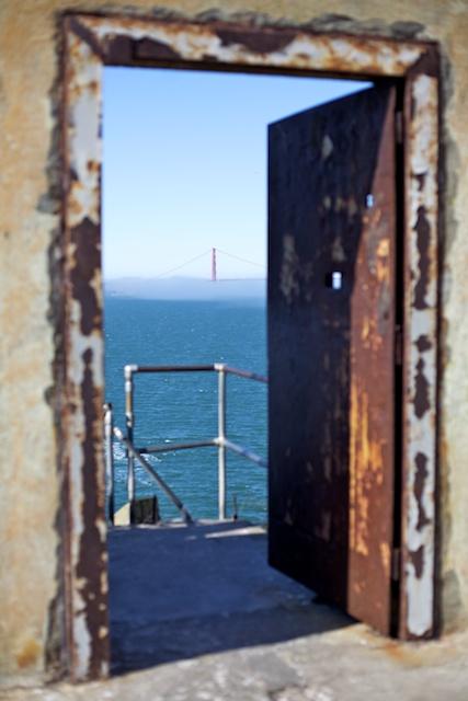 Le Golden Gate, d'Alcatraz