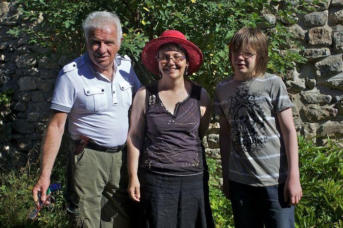 Bernard, Isabelle & Max