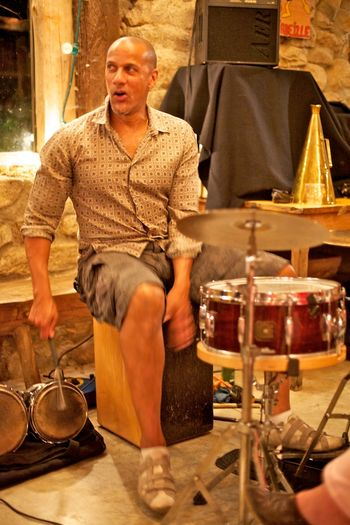Fabrice, percussioniste
