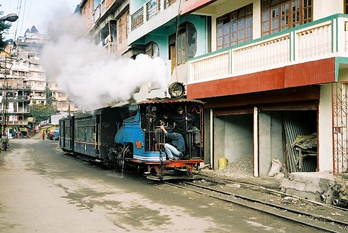 Toy train, dans Darjeeling