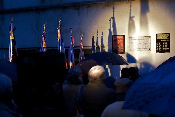 Hommage aux 23 résistants exécutés