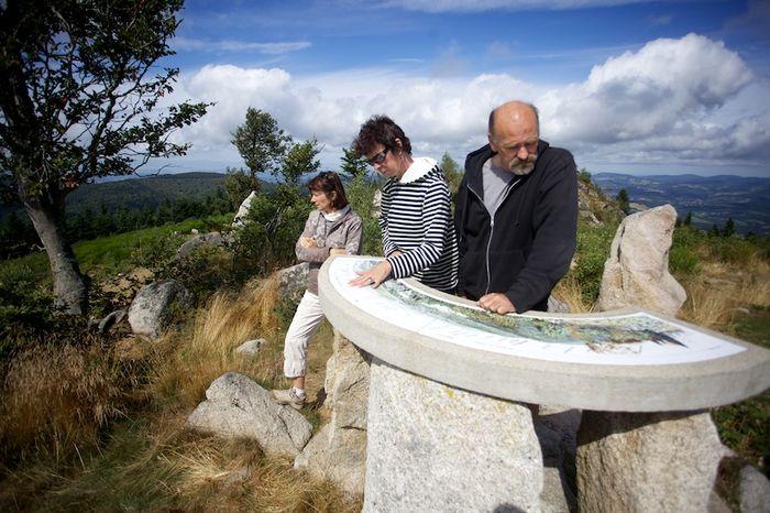 Mariette, Laurence et Alain