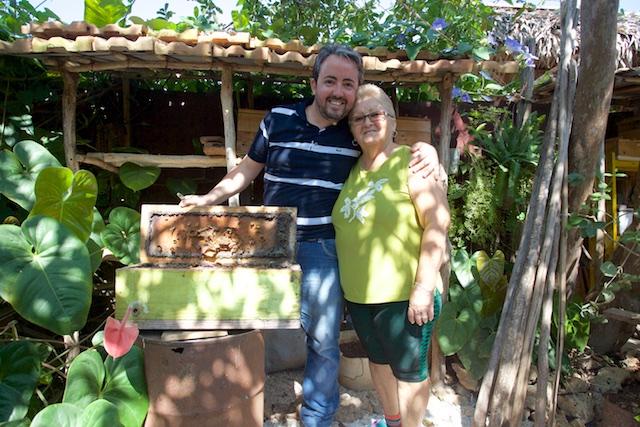 Walberto et sa Maman