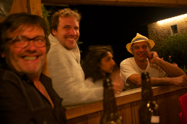 Bernard, Christophe, Gaiane et Pierrot