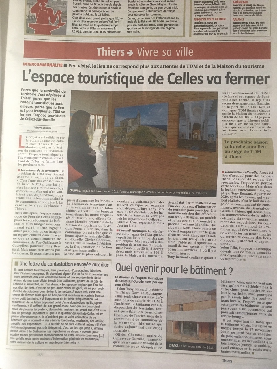 Article La Montagne 13/03/2019 TDM.jpeg