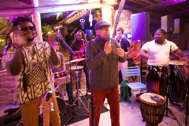 Yvan et ses musiciens...